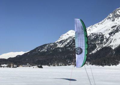Flysurfer Soul Snowkiten Silvaplana Pro Kitesports